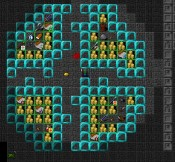 tiles screenshot of the Slime branch end vaults