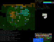 0.7 Tiles screenshot featuring storm disc explosions in the Lair