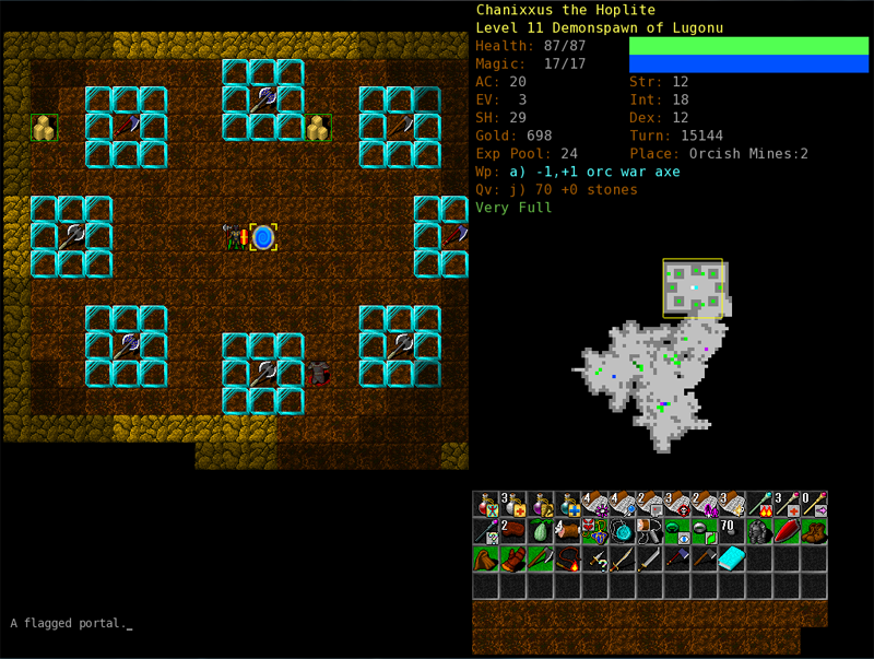 Older Screenshots « Dungeon Crawl Stone Soup